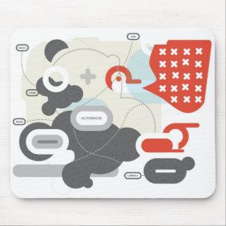 Miles Davis Abstract Mousepad