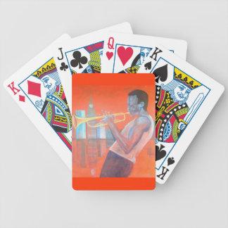 Miles Davis Playing Cards