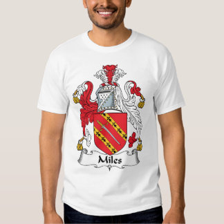 Miles Family Crest Tee Shirt