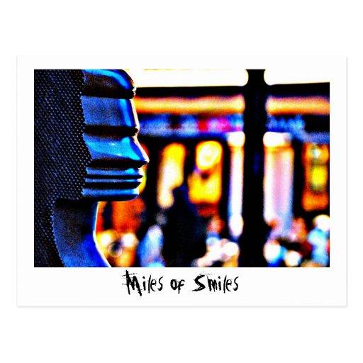 Miles of Smiles - Paris Postcard