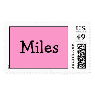 Miles Postage