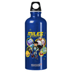SIGG Traveller Water Bottle (0.6L) with Miles and Merc Intergalactic Voyages design
