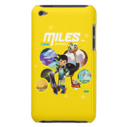 Case-Mate iPod Touch Barely There Case with Miles and Merc Intergalactic Voyages design