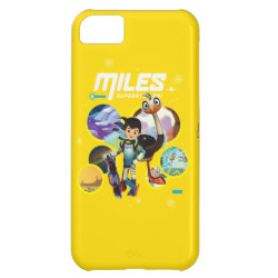 Case-Mate Barely There iPhone 5C Case with Miles and Merc Intergalactic Voyages design