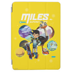 iPad Air Cover with Miles and Merc Intergalactic Voyages design