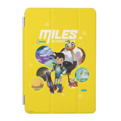 iPad mini Cover with Miles and Merc Intergalactic Voyages design
