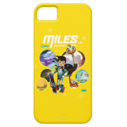 Case-Mate Vibe iPhone 5 Case with Miles and Merc Intergalactic Voyages design