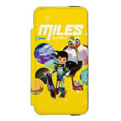 Incipio Watson™ iPhone 5/5s Wallet Case with Miles and Merc Intergalactic Voyages design