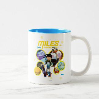Miles Superstellar & MERC Robotic Sidekick Mug