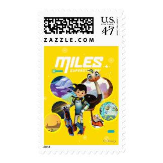 Miles Superstellar & MERC Robotic Sidekick Postage