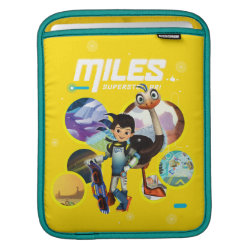 iPad Sleeve with Miles and Merc Intergalactic Voyages design