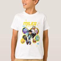 Miles Superstellar & MERC Robotic Sidekick T-Shirt