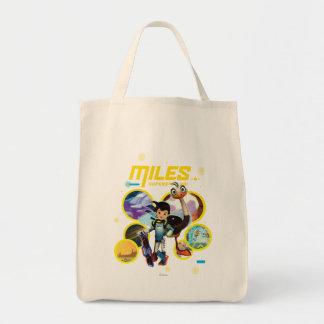 Miles Superstellar & MERC Robotic Sidekick Tote Bag