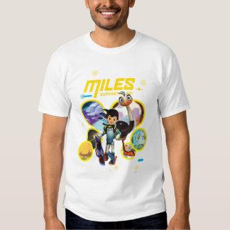 Miles Superstellar & MERC Robotic Sidekick Tshirt