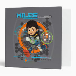 Miles Superstellar Running Graphic 3 Ring Binder