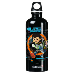 Miles Superstellar Running Graphic Aluminum Water Bottle