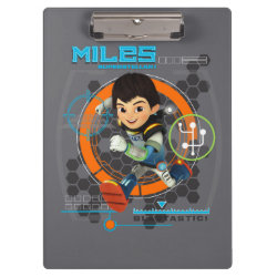 Miles Superstellar Running Graphic Clipboard
