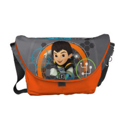 Rickshaw Medium Zero Messenger Bag with Miles from Tomorrowland Blastastic design
