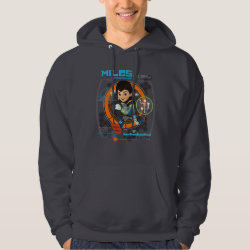 Miles Superstellar Running Graphic Hoodie