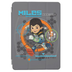 iPad Air Cover with Miles from Tomorrowland Blastastic design