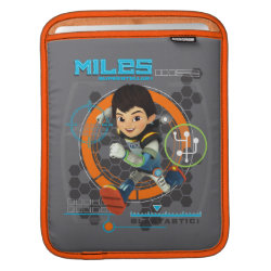 iPad Sleeve with Miles from Tomorrowland Blastastic design