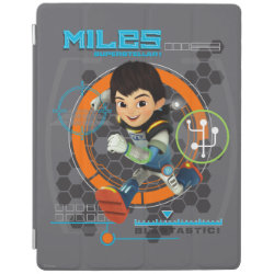 iPad 2/3/4 Cover with Miles from Tomorrowland Blastastic design