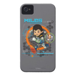 Miles Superstellar Running Graphic iPhone 4 Case