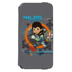 Miles Superstellar Running Graphic iPhone 6/6s Wallet Case