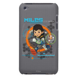Case-Mate iPod Touch Barely There Case with Miles from Tomorrowland Blastastic design