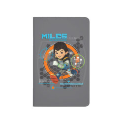 Pocket Journal with Miles from Tomorrowland Blastastic design