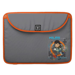 Miles Superstellar Running Graphic MacBook Pro Sleeve