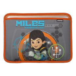 Miles Superstellar Running Graphic MacBook Sleeve