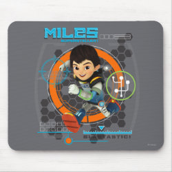 Miles Superstellar Running Graphic Mouse Pad