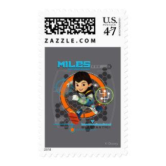 Miles Superstellar Running Graphic Postage