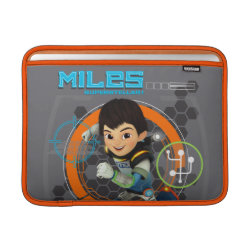 Macbook Air Sleeve with Miles from Tomorrowland Blastastic design