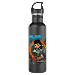 Miles Superstellar Running Graphic Stainless Steel Water Bottle