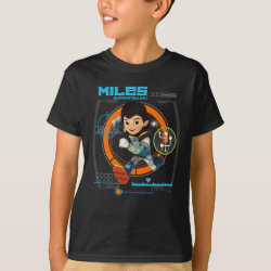 Miles Superstellar Running Graphic T-Shirt