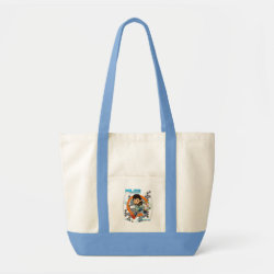 Impulse Tote Bag with Miles from Tomorrowland Blastastic design