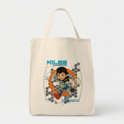 Miles Superstellar Running Graphic Tote Bag