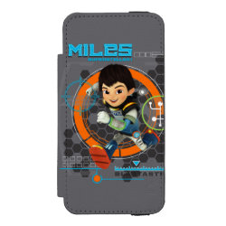 Incipio Watson™ iPhone 5/5s Wallet Case with Miles from Tomorrowland Blastastic design