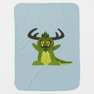 Miles the Monster Stroller Blanket