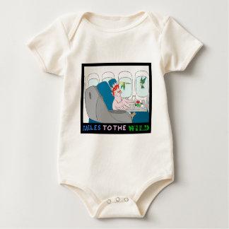 Miles To The Wild Apparel Baby Bodysuit