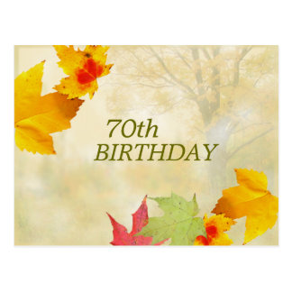 Milestone Birthday Invitation Postcard