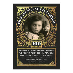 Milestone Birthday Invitations Announcements Zazzle