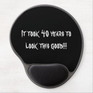 Milestone birthday mousepad gel mouse pad
