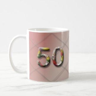Milestone Birthday Mug_50 Classic White Coffee Mug