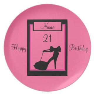 """Milestone Birthday"" Party Plate"