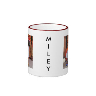 Miley - Boxer - Sausedo Ringer Coffee Mug