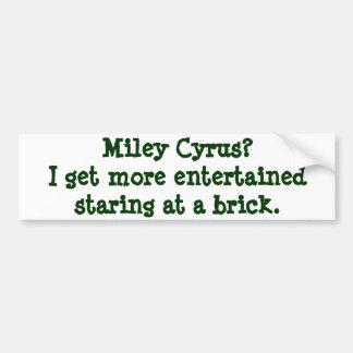 Miley Bumper Sticker Car Bumper Sticker