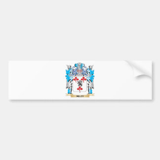 Miley Coat of Arms - Family Crest Car Bumper Sticker